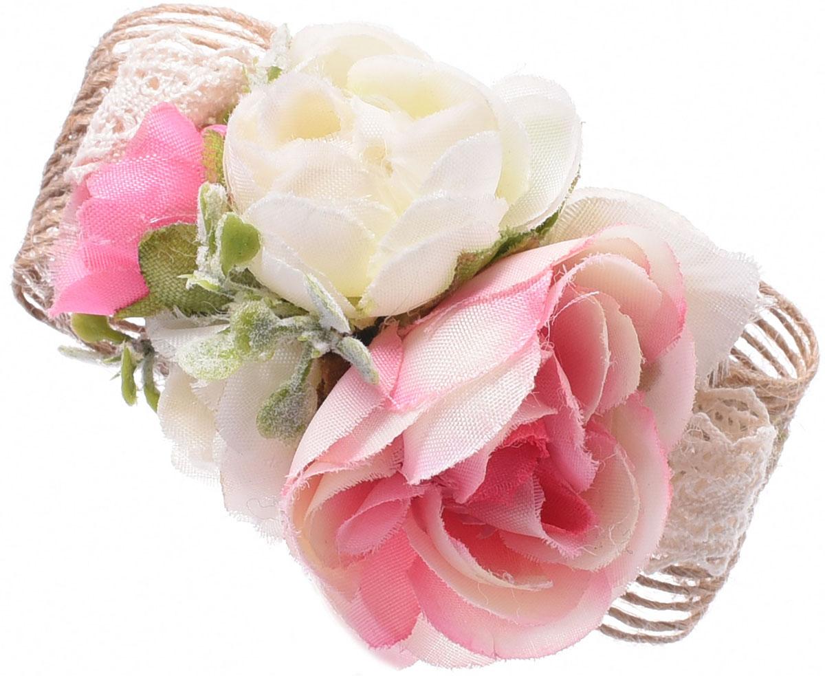 Заколка для волос Malina By Андерсен Фрезия, цвет: розовый. 11807тб10 заколка hairagami хеагами одинарная цвет черный розовый