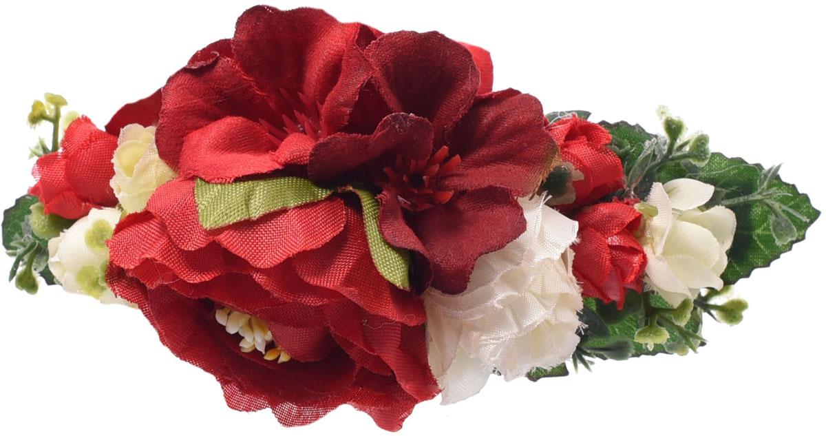 Заколка для волос Malina By Андерсен Флорентина, цвет: красный. 11808за53 malina by андерсен пояс