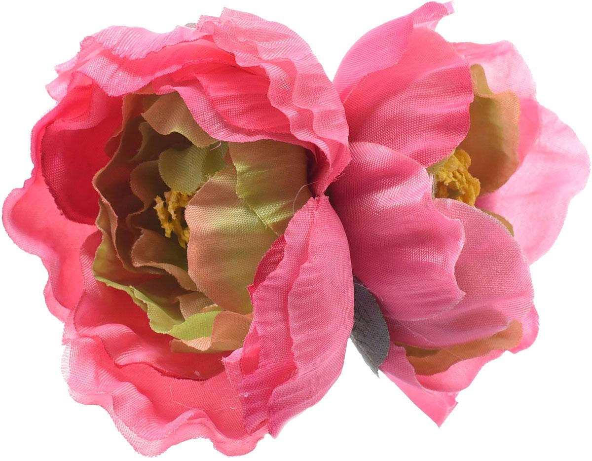 Заколка для волос Malina By Андерсен Флора, цвет: розовый. 11811тб12 заколка hairagami хеагами одинарная цвет черный розовый