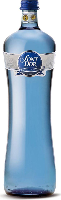 Fontdor Вода минеральная природная премиум, 1 л evian вода минеральная evian без газа 1 5 л