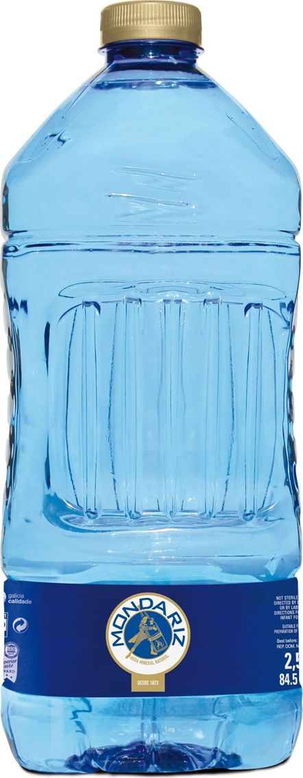 Mondariz Вода минеральная природная вода высшей категории без газа, 2,5 л вода аква минерале