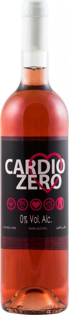 Cardio Zero Вино розовое сухое безалкогольное, 750 мл