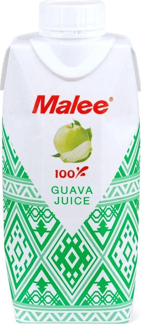 Malee Сок гуава прямого отжима, 0,33 л добрый сок яблочный 0 2 л