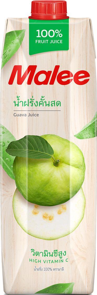 Malee Сок гуава прямого отжима, 1 л armajuice сок яблочный 0 33 л
