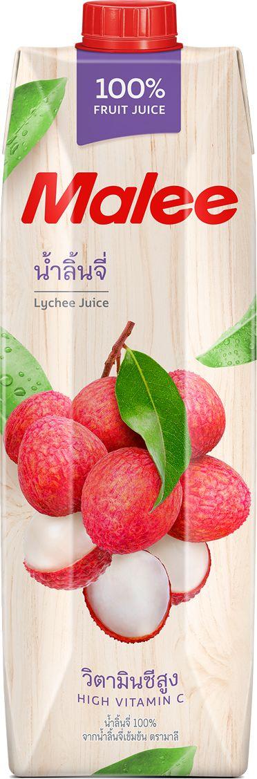 Malee Сок личи, 1 л armajuice сок яблочный 0 33 л