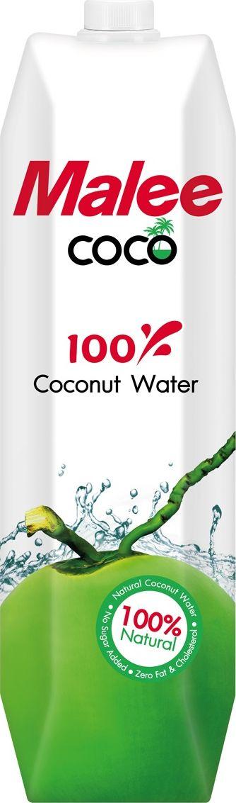 Malee Вода кокосовая, 1 л вода о без газа 0 6 л 12шт