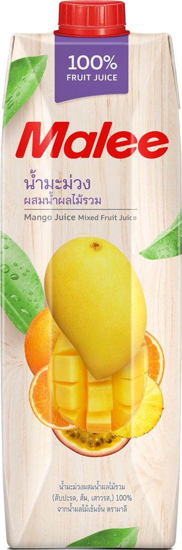 Malee Сок манго с добавлением фруктов, 1 л