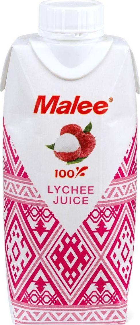 Malee Сок личи, 0,33 л сок мята