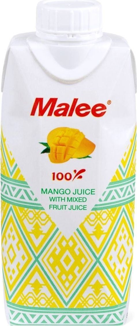 Malee Сок манго с добавлением фруктов, 0,33 л добрый сок мультифрут 0 2 л