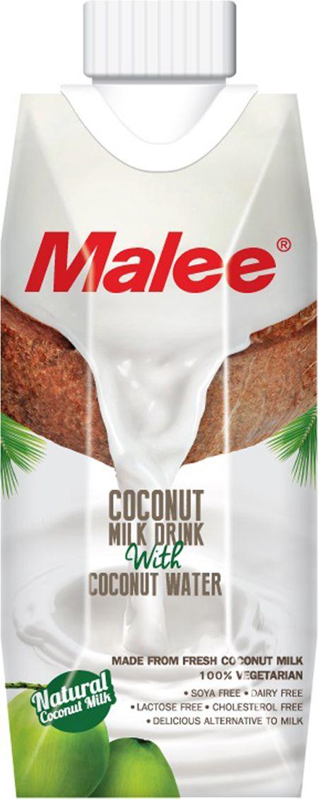 Malee Напиток кокосовое молоко, 0,33 л каша безмолочная remedia кукурузный кисель корнфлор с 5 мес 200 г