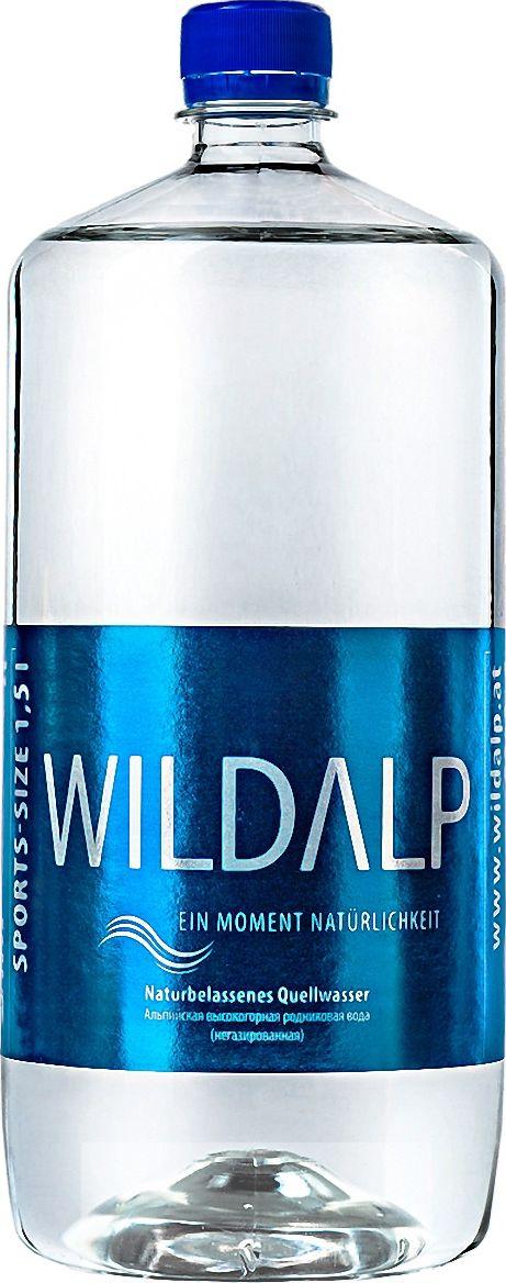 Wildalp Вода альпийская природная родниковая без газа высшая категория, 1,5 л вода о без газа 0 6 л 12шт