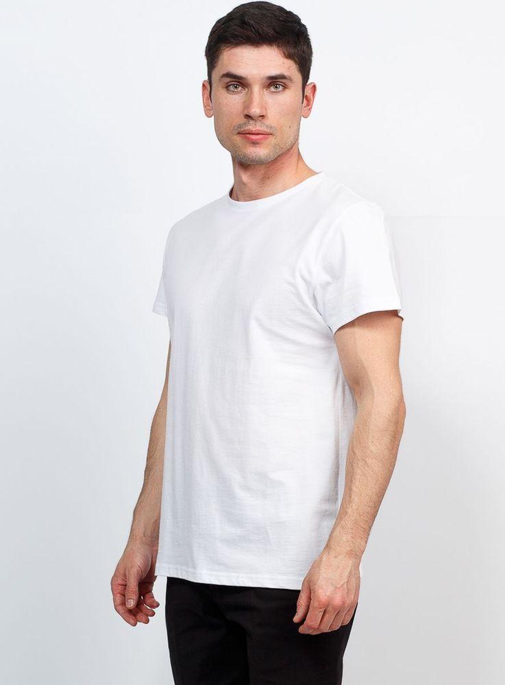 Купить Футболка мужская Greg, цвет: белый. TS521. Размер 54