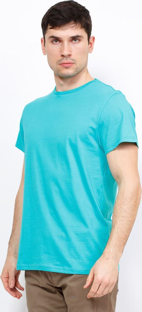 Футболка мужская Greg, цвет: зеленый. TS521. Размер 46 футболка greg greg mp002xm0lzqw