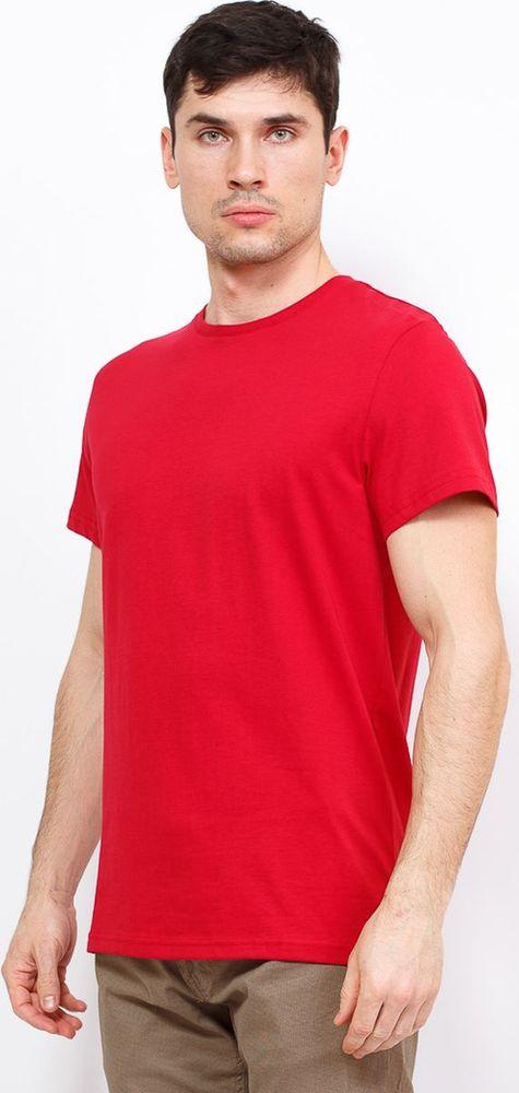 Футболка мужская Greg, цвет: красный. TS521. Размер 54  - купить со скидкой
