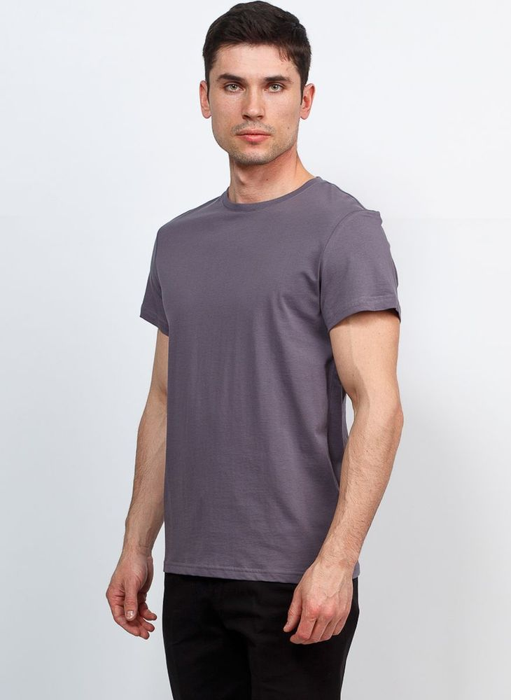 Футболка мужская Greg, цвет: серый. TS521. Размер 60 футболка greg greg mp002xm0lzqw