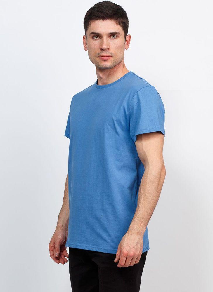 Футболка мужская Greg, цвет: синий. TS521. Размер 60 футболка greg greg mp002xm0m12h