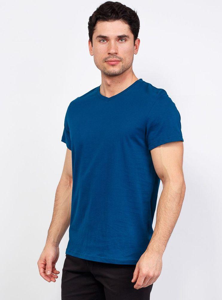 Купить Футболка мужская Greg, цвет: синий. TS524V. Размер 46