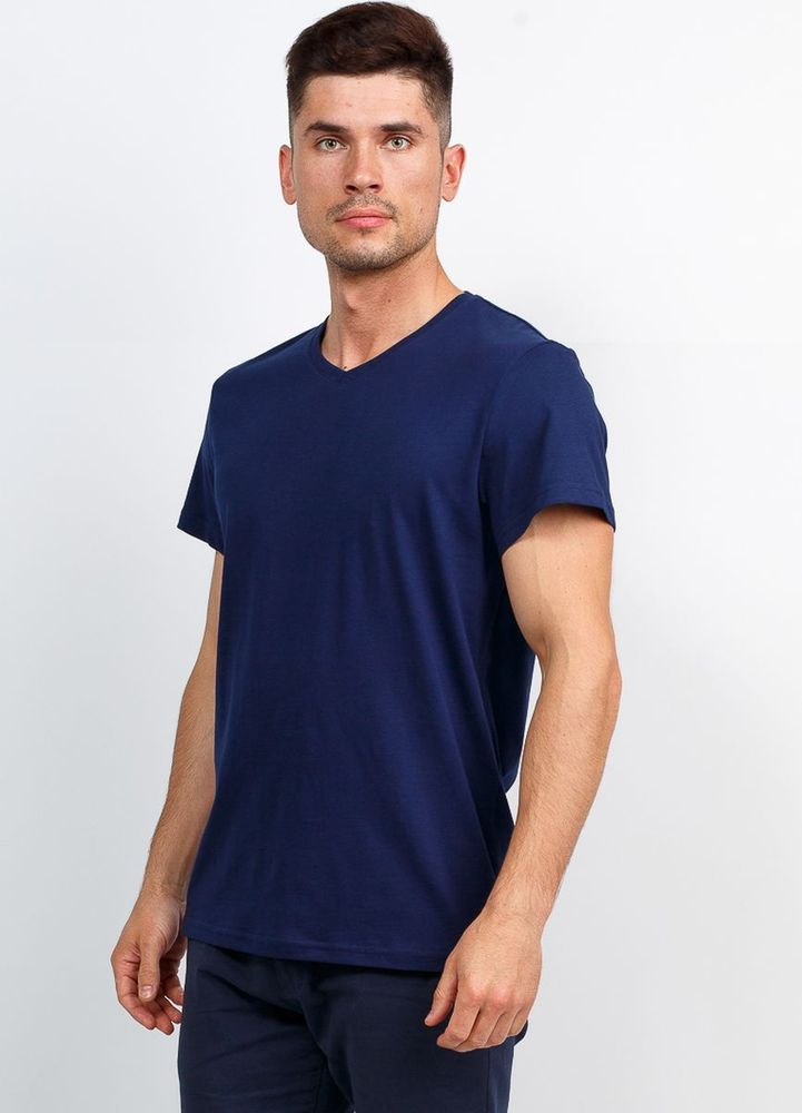 Купить Футболка мужская Greg, цвет: темно-синий. TS524V-3920. Размер 54