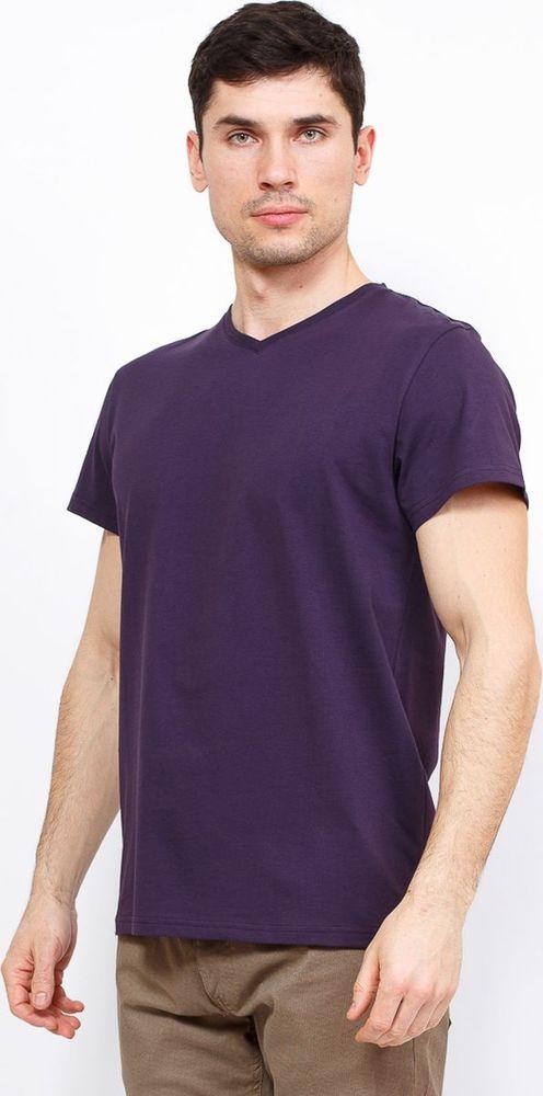 Купить Футболка мужская Greg, цвет: фиолетовый. TS524V. Размер 46