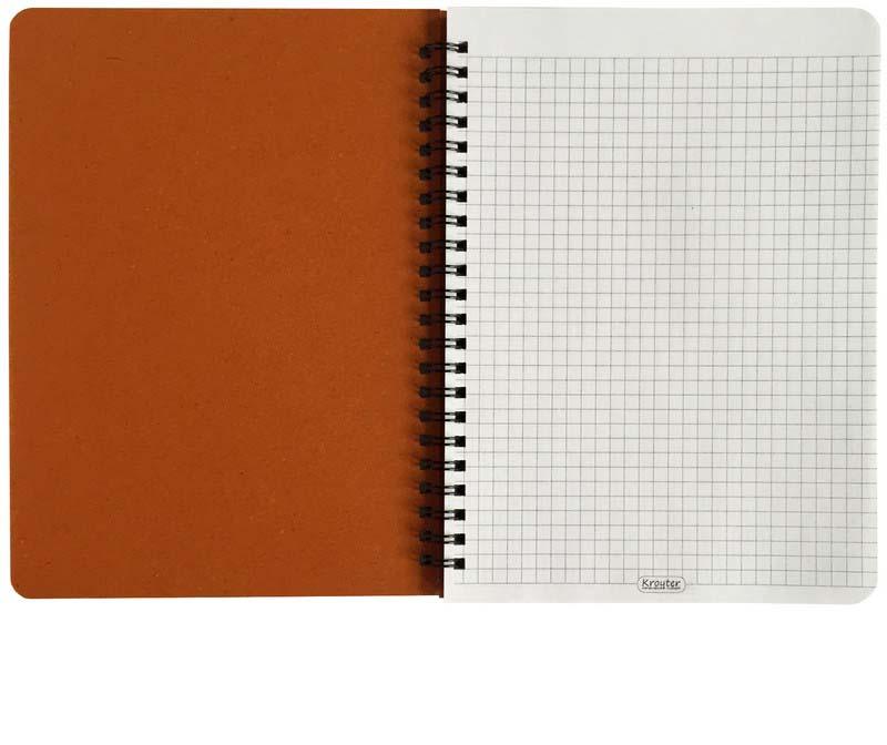 Тетрадь общая Офис представлена в формате 205х145 мм. Блок сделан из офсетной бумаги плотностью 65 г/м2 и состоит из 60 листов в клетку, без полей. Цвет линовки - черный. Обложка тетради сделана из крафт-картона плотностью 800 г/м2 с тиснением. Тип скрепления - спираль. Товар поставляется в нескольких вариантах цвета/дизайна (без возможности выбора).