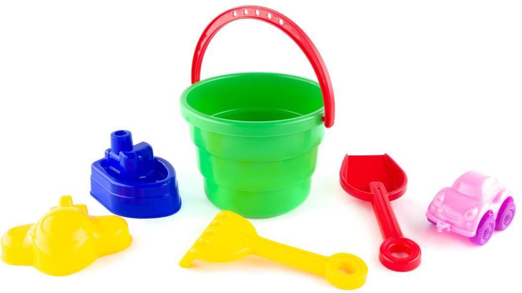 Пластмастер Набор для песочницы Бибип gowi набор игрушек для песочницы ведерко грабли совочек формочка