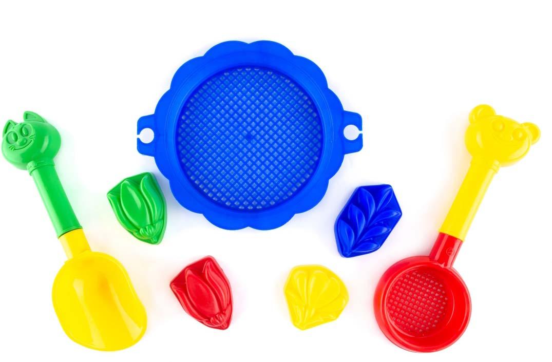 Пластмастер Набор для песочницы Бережок песочный набор пластмастер бережок 7 предметов 70036 в ассортименте