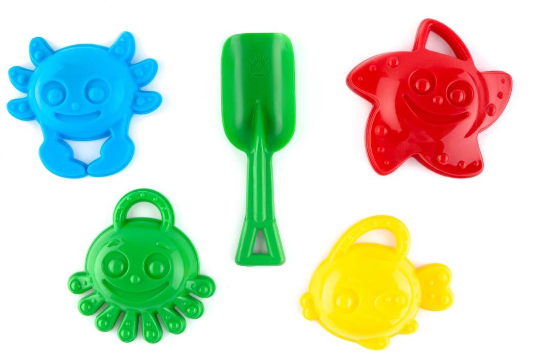 Пластмастер Набор формочек для песочницы Морские друзья пластмастер игрушка для песочницы подарочный набор лето в рюкзачке 1