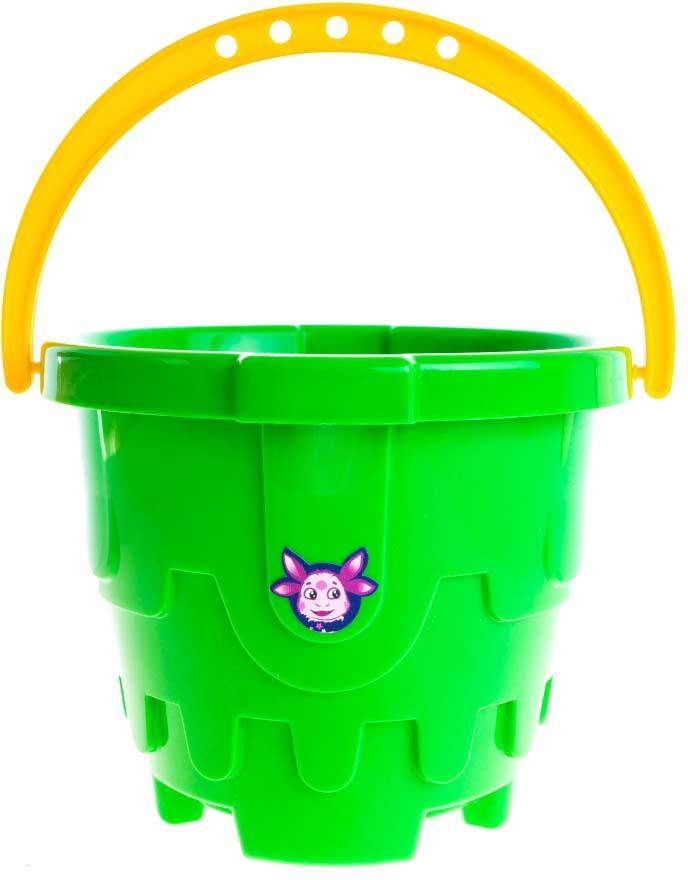 Пластмастер Игрушка для песочницы Ведро Замок Лунтика пластмастер игрушка для песочницы подарочный набор лето в рюкзачке 1