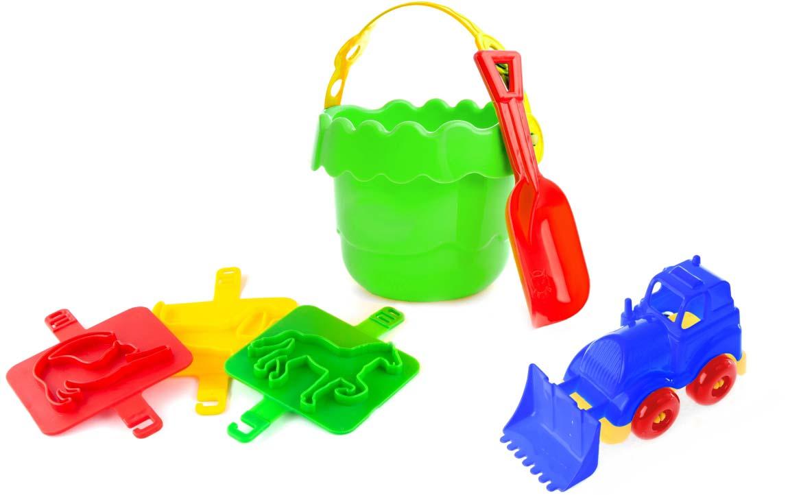Пластмастер Набор для песочницы Затея набор для песочницы веселое ведерко