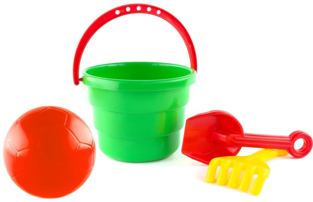 Пластмастер Набор для песочницы Играй набор для песочницы веселое ведерко