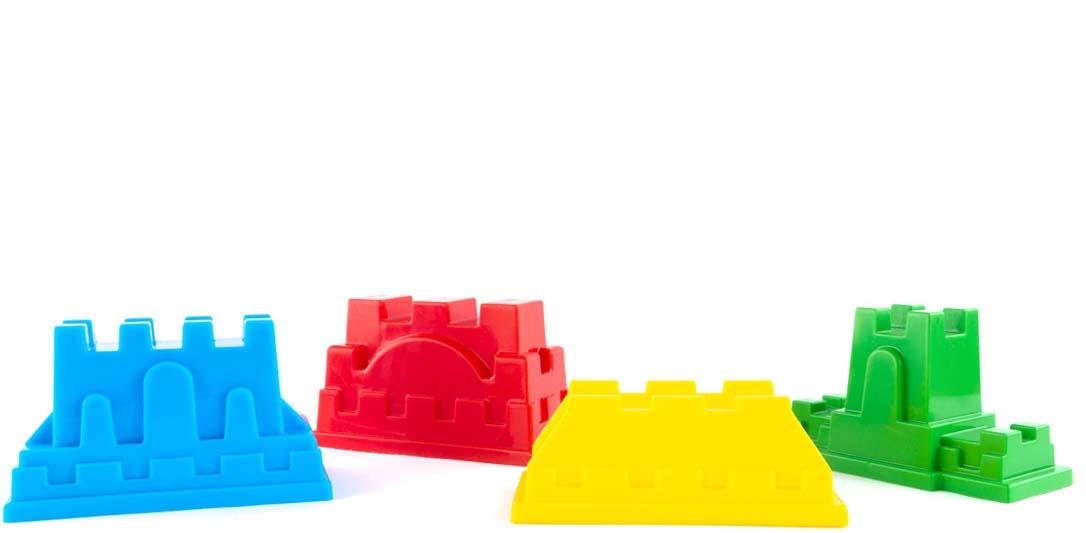 Пластмастер Формочка для песочницы Крепости в ассортименте, Игрушки для песочницы  - купить со скидкой