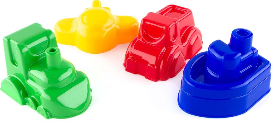 Пластмастер Формочка для песочницы Транспорт в ассортименте формочки для песка стеллар