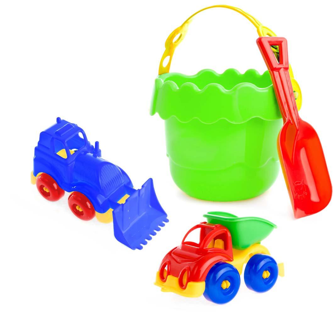 Пластмастер Набор для песочницы На речке пластмастер игрушечный набор монтажник
