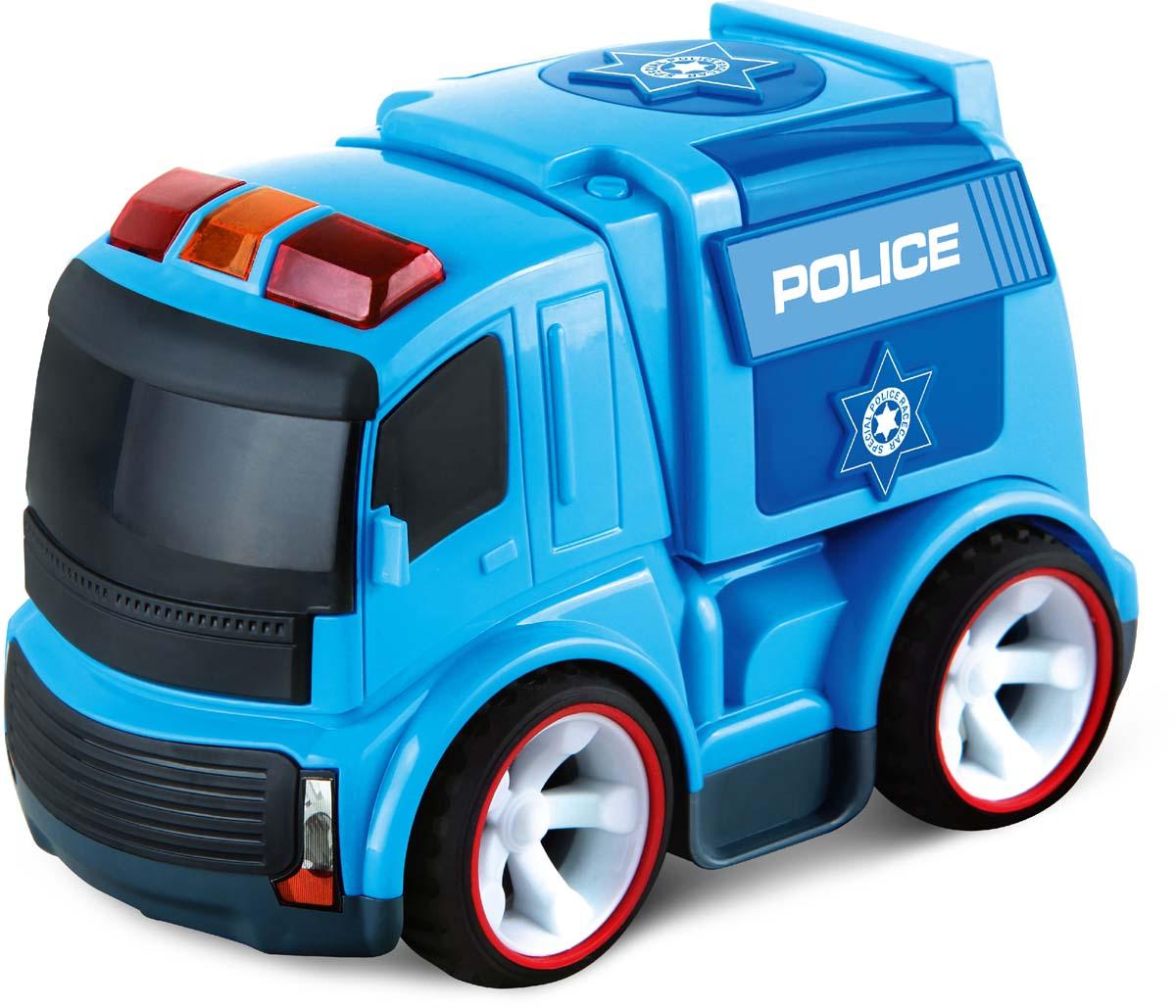 Blue Sea Машинка инерционная Полиция пламенный мотор машинка инерционная volvo полиция дпс гу бдд