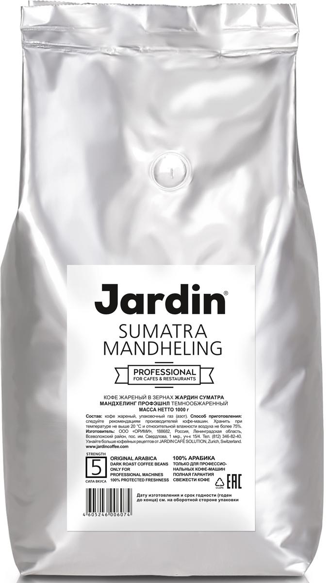 Jardin Sumatra Mandheling кофе в зернах, 1 кг (промышленная упаковка)0603-8-ХРКЗерновой кофе Jardin Sumatra Mandheling открывает густой, без кислинки, вкус с пряными оттенками и послевкусие с нотами специй. Сорт Mandheling, выращенный на Суматре, одном из экзотических островов Индонезии, считается самым узнаваемым по вкусу - его невозможно спутать ни с каким другим. Уважаемые клиенты! Обращаем ваше внимание на то, что упаковка может иметь несколько видов дизайна. Поставка осуществляется в зависимости от наличия на складе. Кофе: мифы и факты. Статья OZON Гид