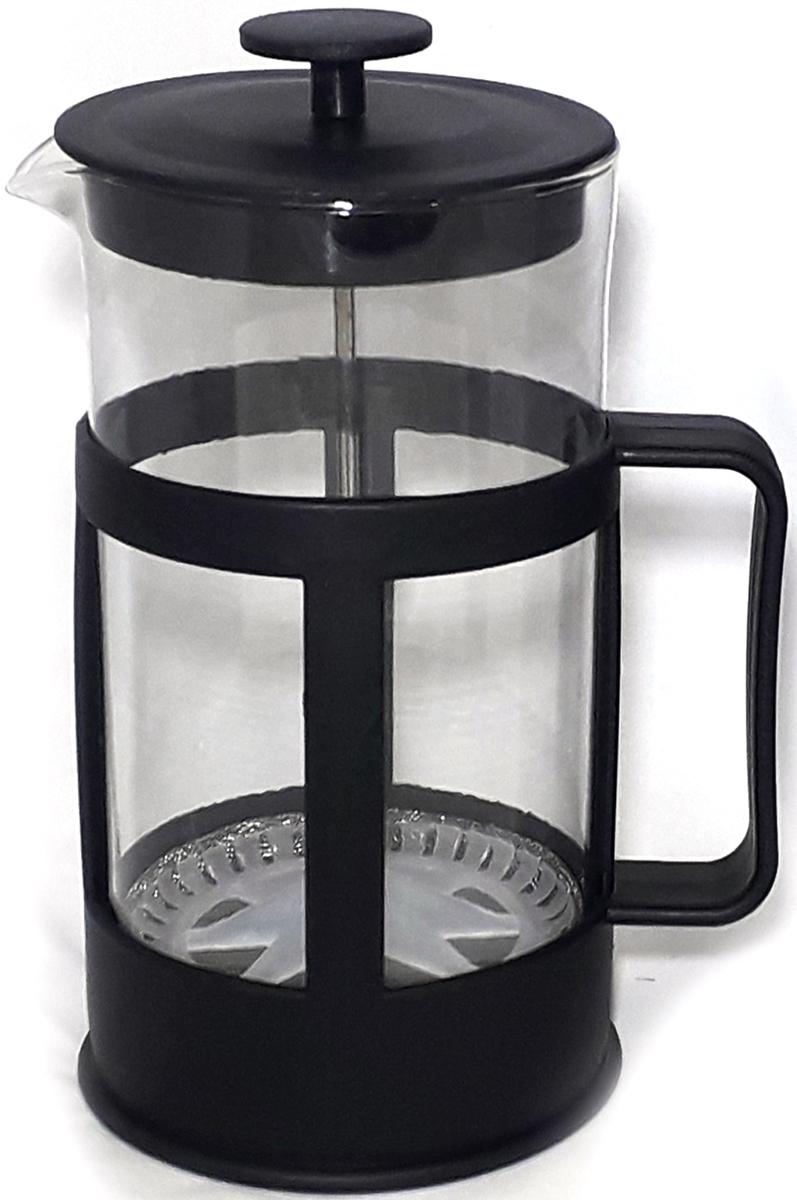 Френч-пресс прекрасно подойдет для приготовления как чая, так и кофе. Корпус из жаропрочного стекла имеет амортизационную напайку, защищающую от воздействия высоких температур. Опускающийся поршень-фильтр задерживает кофейный осадок (чаинки) и предотвращает попадание кофейного осадка (чаинок) в чашку. Напиток приобретает ровный цвет и консистенцию, великолепный вкус и аромат. Разборный механизм облегчает уход за изделием.