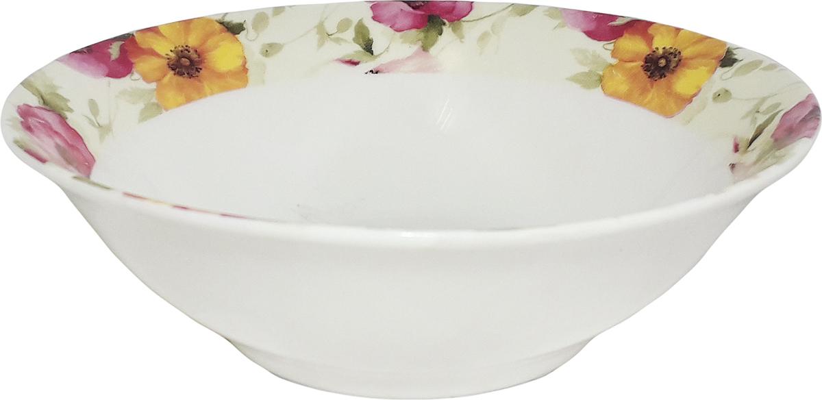 Салатник МФК-профит Дели, диаметр 15 смMFK06472*Салатник прекрасно впишется в интерьер вашей кухни истанет достойным дополнением к кухонному инвентарю.Салатник не только украсит ваш кухонный стол и подчеркнет прекрасный вкус хозяйки,но и станет отличным подарком.
