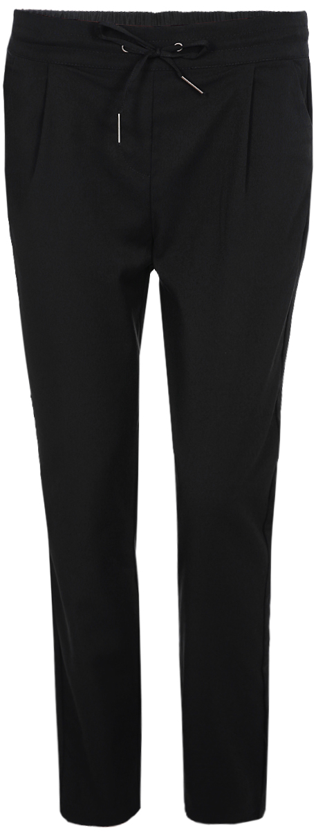 Брюки женские Vero Moda, цвет: черный. 10183272. Размер S-32 (42-32) пальто женское vero moda цвет зеленый 10188866 pepper green размер s 42
