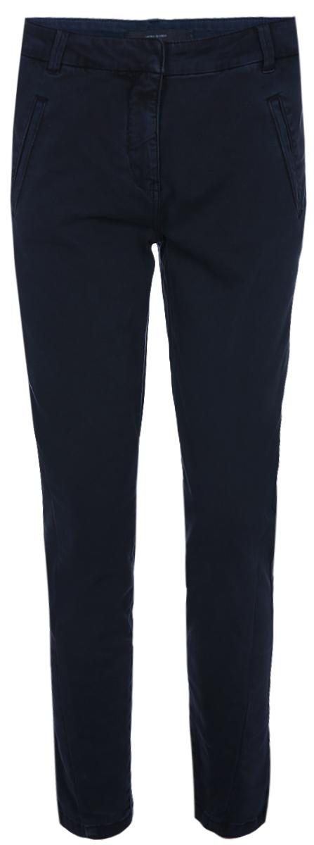 Брюки женские Vero Moda, цвет: синий. 10189866. Размер S-32 (42-32) брюки женские vero moda цвет черный 10183272 размер s 32 42 32