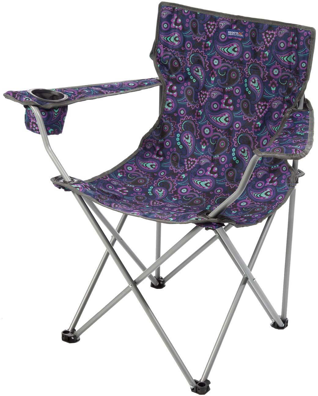 """Кресло туристическое Regatta """"Isla Chair"""", цвет: фиолетовый"""