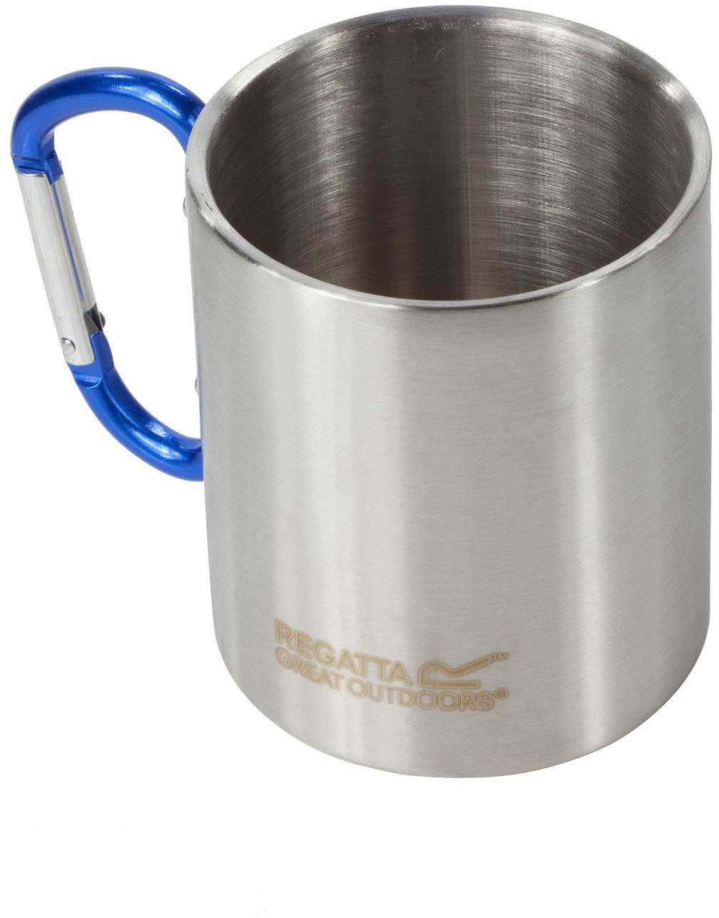 Кружка Regatta Stl Mug Karabiner, цвет: серый, 300 мл
