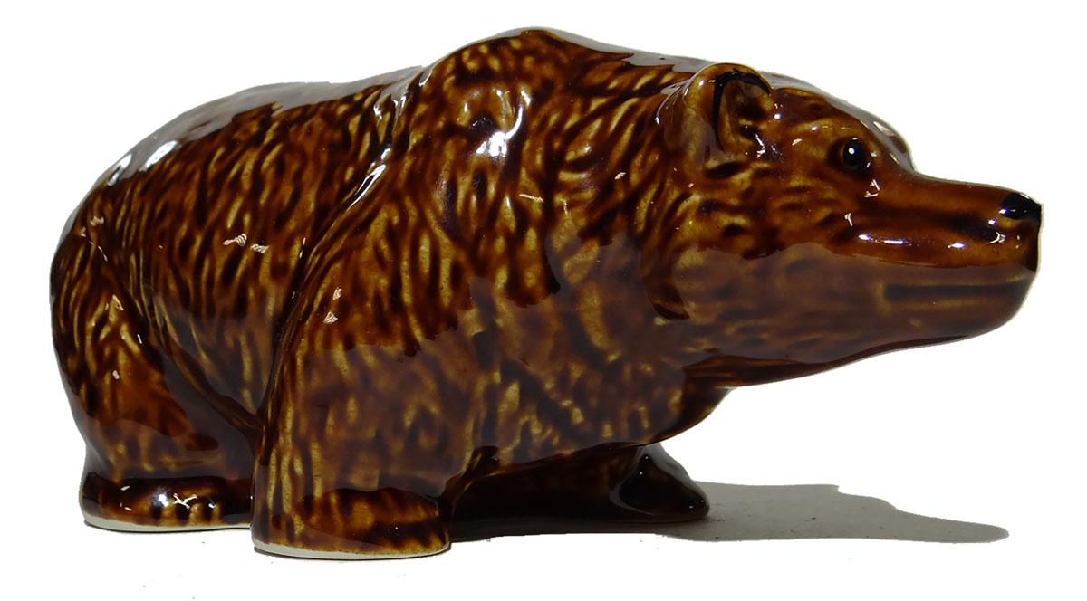 Статуэтка Медведь. Керамика. СССР, вторая половина ХХ века ложка сувенирная йорк минстер металл серебрение вторая половина хх века