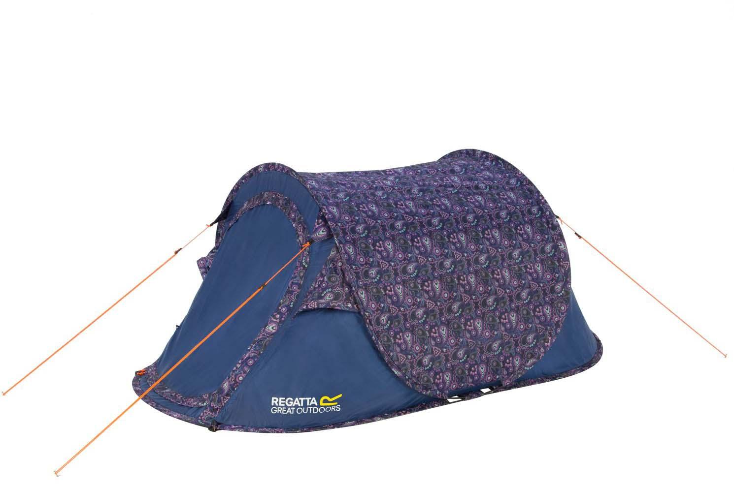 "Палатка Regatta ""Malawi 2 Print"", 2-местная, цвет: фиолетовый"