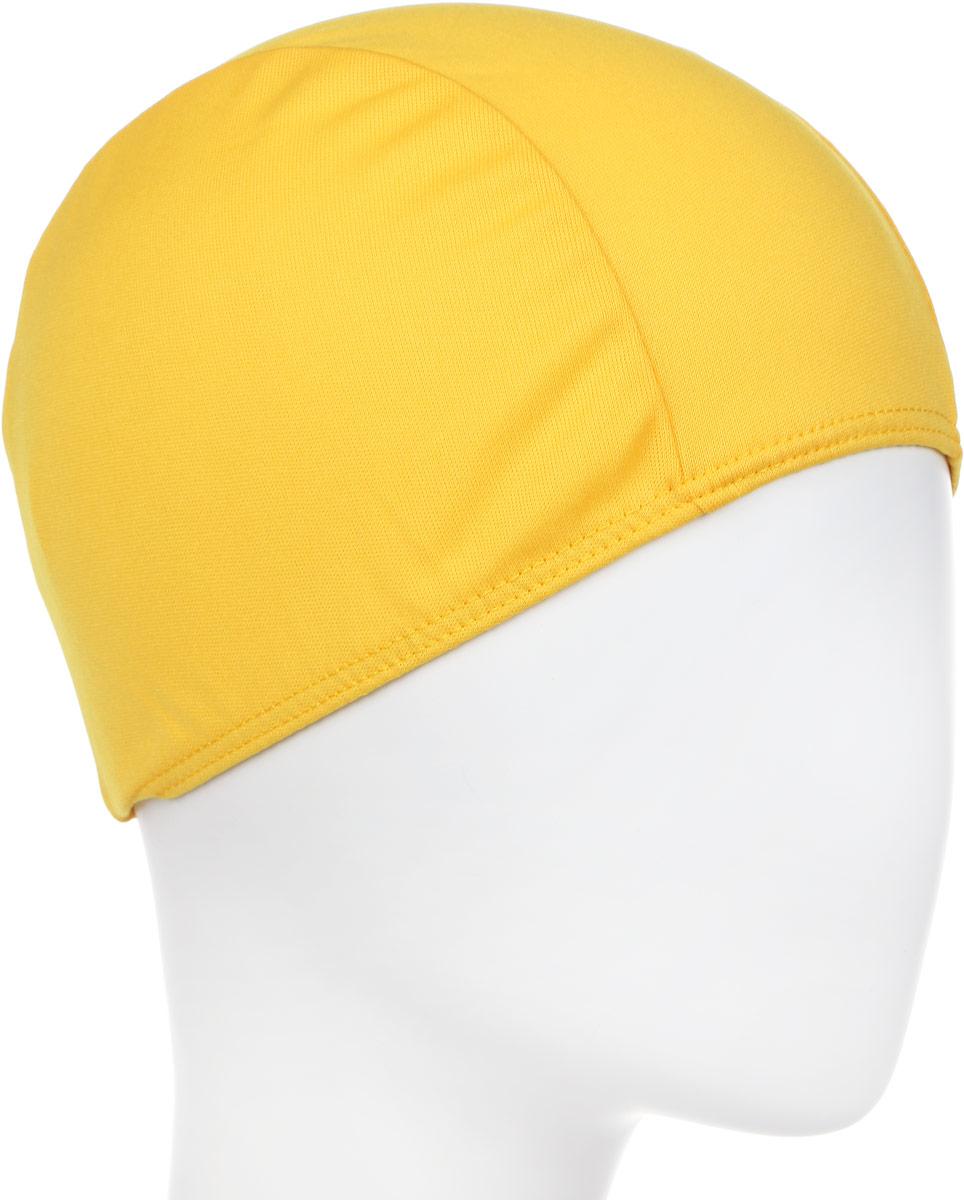 Шапочка для плавания детская Larsen, цвет: желтый шапочка для плавания детская larsen рыбка цвет желтый lsc10