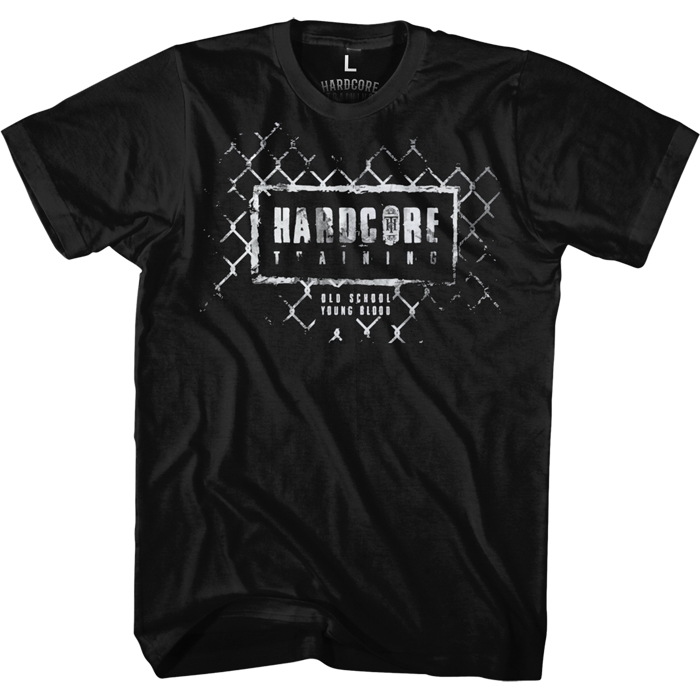 Футболка мужская Hardcore Training Grid Black, цвет: черный. hctshirt0182. Размер S (46) лонгслив спортивный hardcore training hardcore training ha020emqmf42