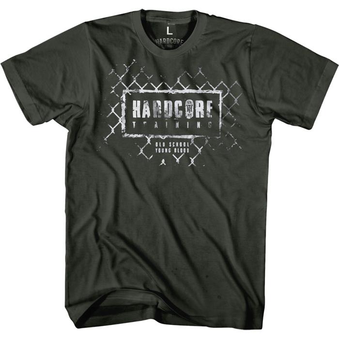 Футболка мужская Hardcore Training Grid Grey, цвет: серый. hctshirt0183. Размер S (46) футболка hardcore training hardcore training ha020embonx0