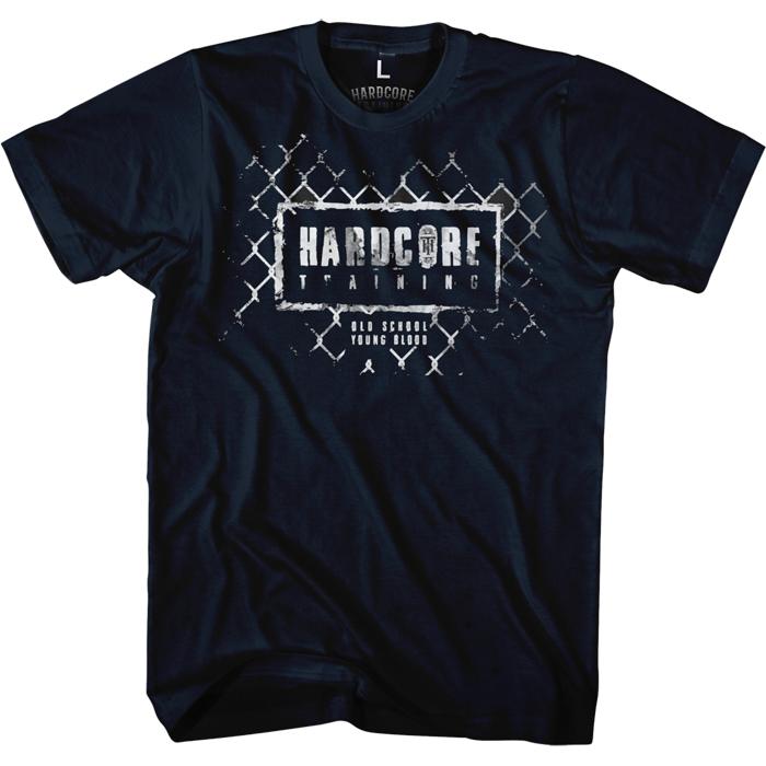 Футболка мужская Hardcore Training Grid Navy, цвет: темно-синий. hctshirt0184. Размер L (50)hctshirt0184