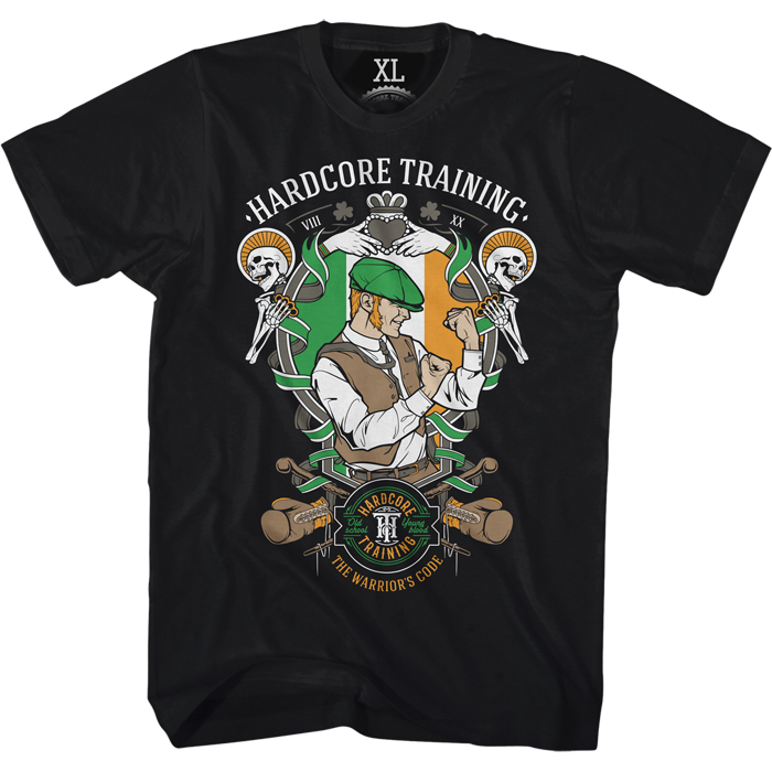 Футболка мужская Hardcore Training Scrapper, цвет: черный. hctshirt0219. Размер S (46) лонгслив спортивный hardcore training hardcore training ha020emqmf42