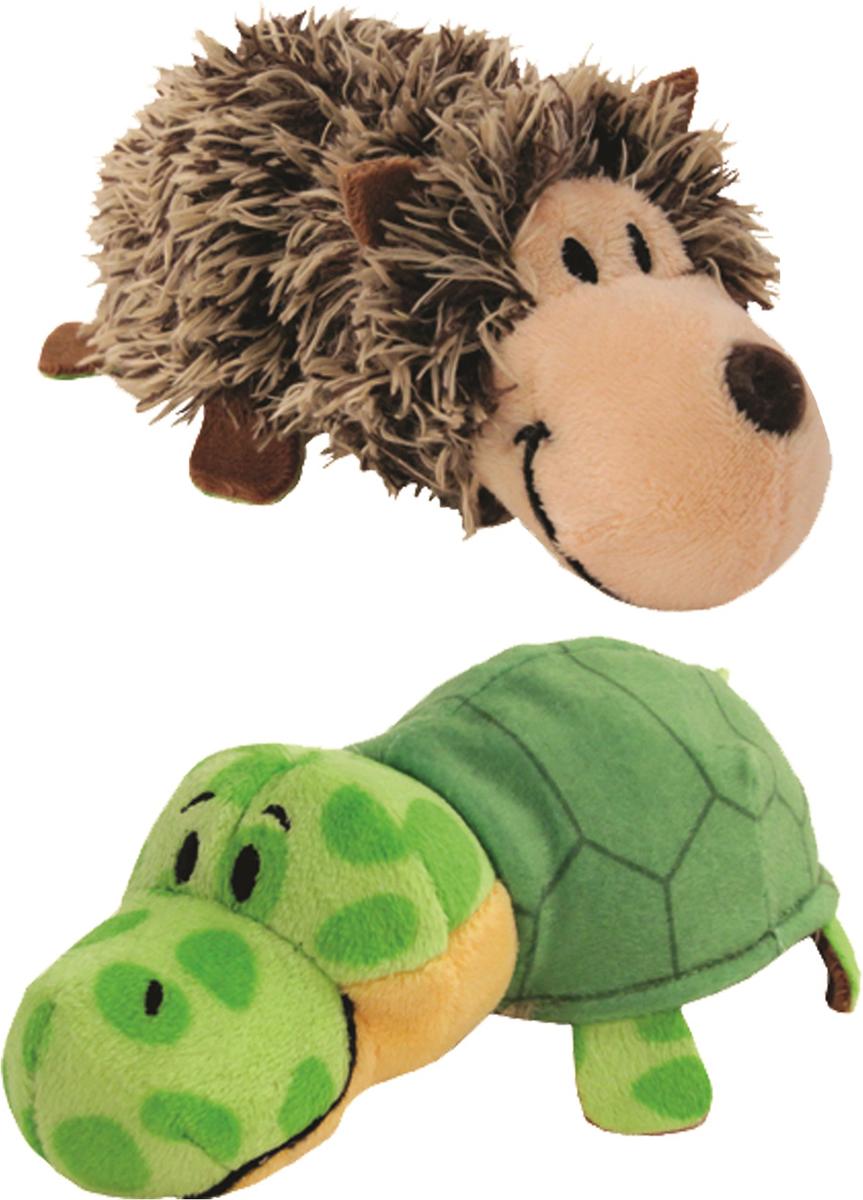 1TOYМягкая игрушкаВывернушка 2в1 Ежик-Черепаха 12 см
