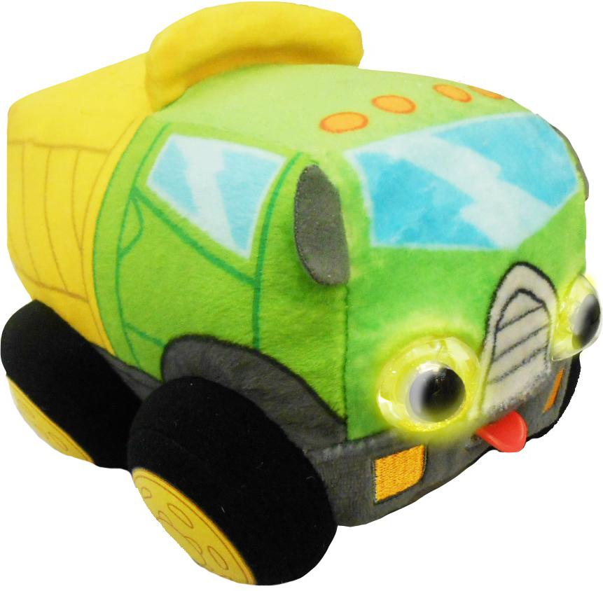 1TOYМягкая озвученная игрушкаДразнюка-Биби Грузовичок 15 см